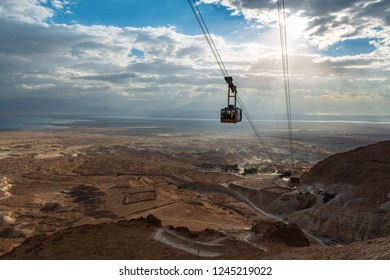 View from Masada Fortress, Israel
