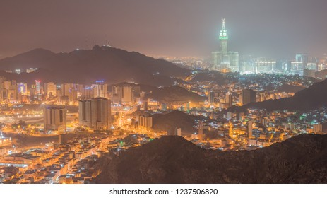 a view of mecca city from an-nur mountain