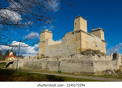View of medieval Castle of Diosgyor in hungarian city Miskolc
