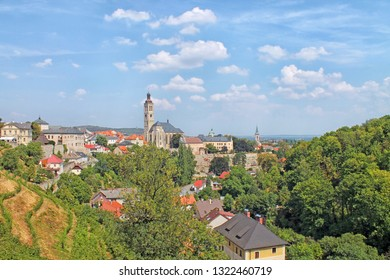View of  medieval town of Kutna Hora, Czech Republic, Europe.
