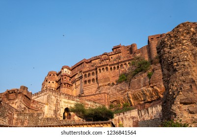 A view of Mehrangarh Fort in Jodphur India