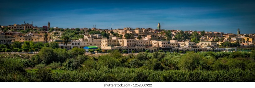 View of Meknes, Morocco