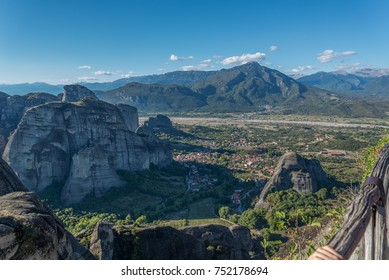 "View from ""Meteora"" Rocks in Greece"