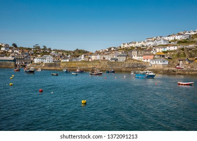 View of Mevagissey and Harbor