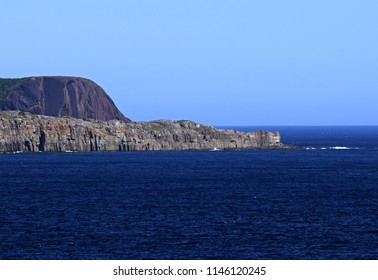 view from Middle Cove towards Beamer Rock and Red Head Cliff near Flatrock, Newfoundland Canada