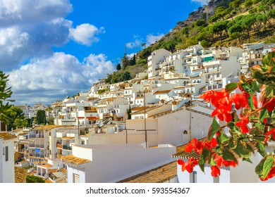 View of Mijas village. Costa del Sol, Andalusia, Spain