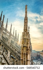 View from the Milan Cathedral