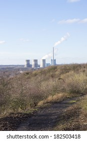 "View from the mining dump ""Kissinger Hoehe"", Hamm, Germany"