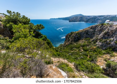 View from Mirador Ambolo to the  West, Costa Blanca, Spain