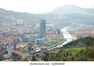 View From the Mirador de Artxanda - December 2015 - Bilbao, Spain