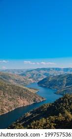 view from Miradouro de Ujo in Vale do Tua