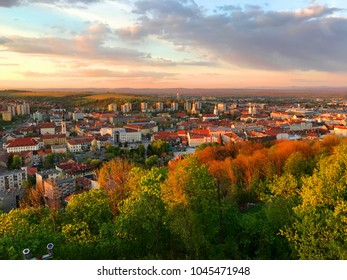 View of Miskolc, Hungary. Circa 2017.