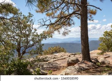 View from Mogollon Rim, Arizona