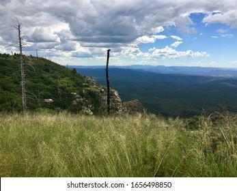 View from Mogollon Rim in Happy Jack, Northern Arizona