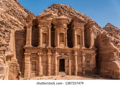 View of the Monastery, Petra, Jordan
