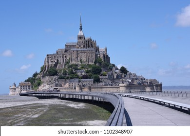 View of Mont Saint Michel. Francia