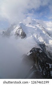 View of Montblanc from Aiguille du Midi (Chamonix, France - 2018)