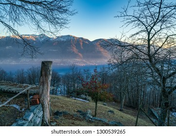 View from Monte Bre, Locarno, Switzerland