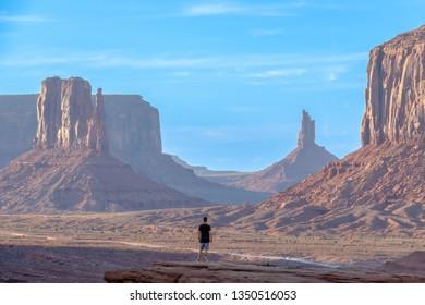 View of Monument Valley, Arizona