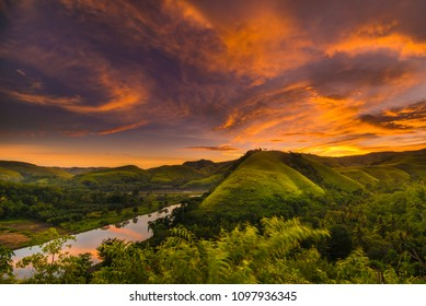 A view from Morinda Hill Sumba Indonesia