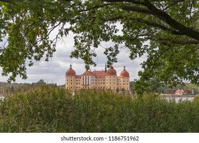 View of Moritzburg Castle