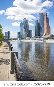 View of the Moscow International Business Center, Russia