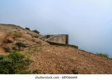 View from Mount Asketi near Megalo-Yalo Bay near Balaklava. Crimea, Ukraine. May 2009