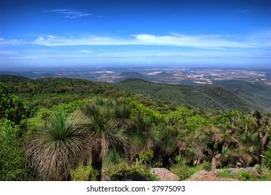 view from Mount Kingarow, Bunya Mountains, Queensland (Australia)