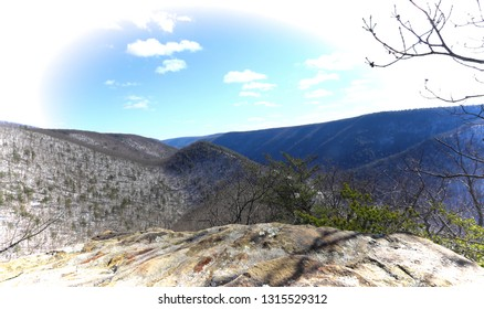 View From The Mountain Edge
