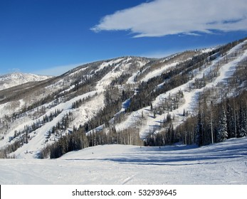 View of the mountains in Steamboat Springs, Colorado
