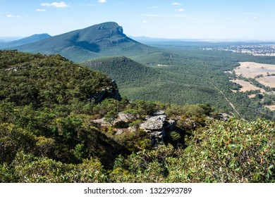 View of Mt Abrupt in the Grampians region of Victoria, Australia.