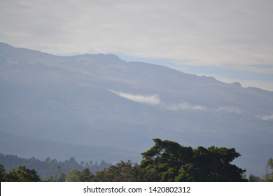 View of Mt Kenya from nanyuki town
