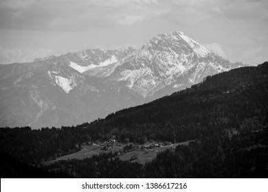 View To Mt. Mittagskogel In Carinthia