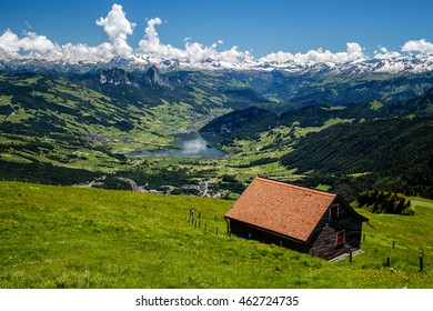 View from Mt. Rigi, Switzerland