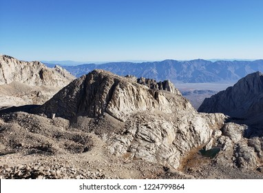 View from the Mt. Whitney Trail, CA