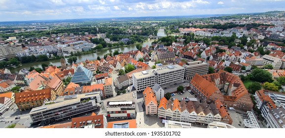 View from the munster of Ulm in Germany