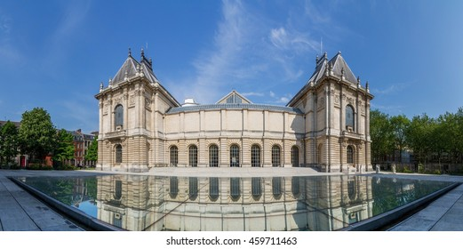 View of Museum of Fine Arts in Lille Nord-Pas-de-Calais France