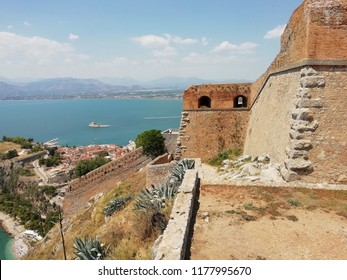 A view from Nafpolion Castle