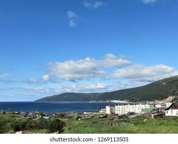 View of Nagaeva Bay in Magadan