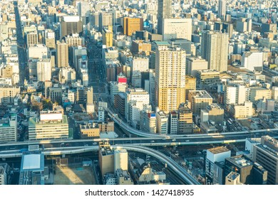 View of Nagoya cityscape in Nagoya, Japan.