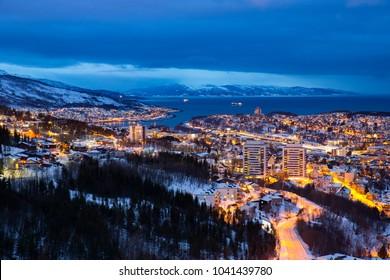 View of Narvik, Norway.