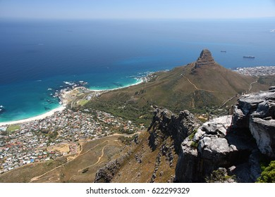 View from National Park Table Mountain, Cape Town, South Africa