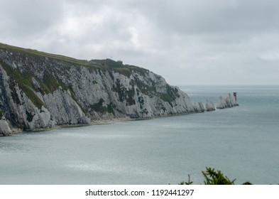 A view of the Needles, Isle of Wight