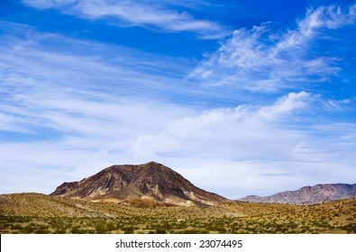 View of the Nevada Desert.
