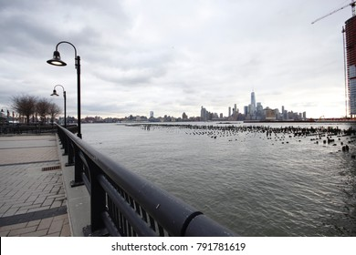 View of New York City from the New Jersey side of the river