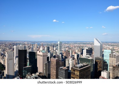 View of New York city in USA.