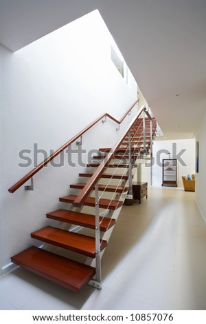 View Of Nice Staircase Leading Up To The Second Floor