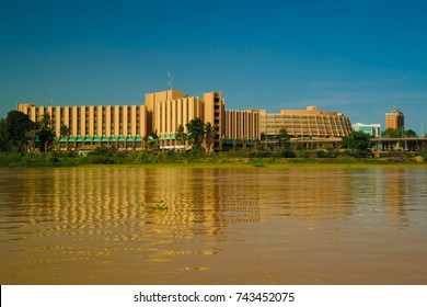 view to Niger river and Niamey city , Niger