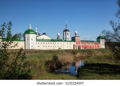 View of the Nikolo-Peshnoshsky Monastery in Lugovoi, Moscow Region, Russia