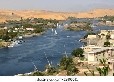 View of the Nile from Aswan